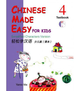Chinese Made Easy for Kids 4 - Textbook (CD incluso)