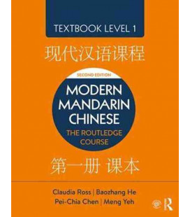 Modern Mandarin Chinese - The Routledge Course - Textbook Level 1, 2nd Edition