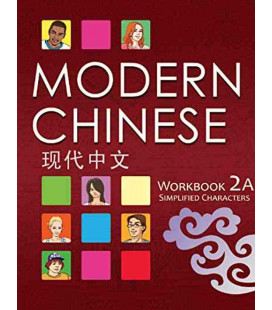 Modern Chinese 2A- Workbook - (2º Edición) Incluye descarga de audio