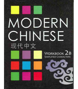 Modern Chinese 2B- Workbook- (2. Auflage) inkl. Audio-Dateien zum Download