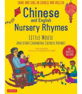 Chinese and English Nursery Rhymes - CD Incluso