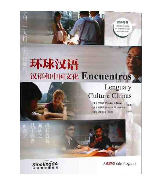 Encuentros 1 - Lengua y Cultura Chinas - Teacher's book (Codice de Video e Audio incluso)