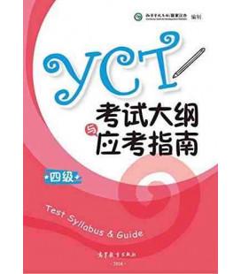 YCT Test Syllabus & Guide Level 4 (Edición 2016) Incluye descarga de audios