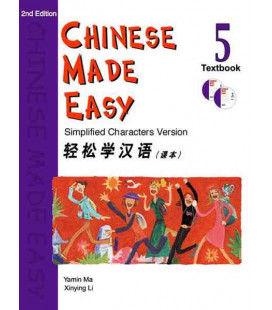 Chinese Made Easy 5 - Textbook (CD inclus)