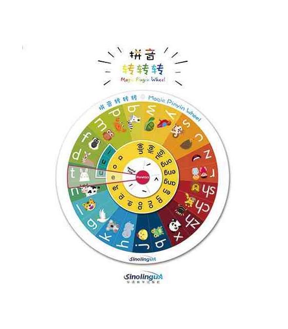 Magic Pinyin Wheel (21 cm. de diámetro)