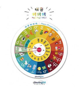 Magic Pinyin Wheel (21 cm. di diametro)