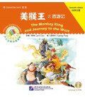 The Monkey King and Journey to the West - Chinese Graded Readers (Elementary) CD Incluso