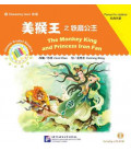 The Monkey King and Princess Iron Fan - Chinese Graded Readers (Elementary) CD Incluso