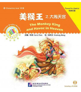 The Monkey King and Havoc in Heaven - Chinese Graded Readers (Grundstufe) - enthält CD