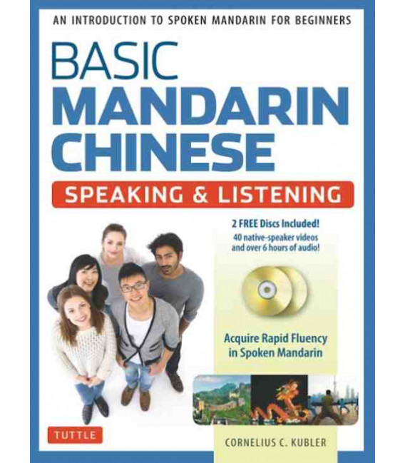 Basic Mandarin Chinese - Speaking & Listening (2 CD inclus)