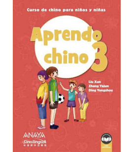 Aprendo chino 3 (Incluye audio descargable)