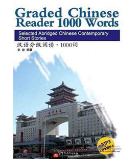 Graded Chinese Reader 1000 Words (CD/MP3 inklusive)