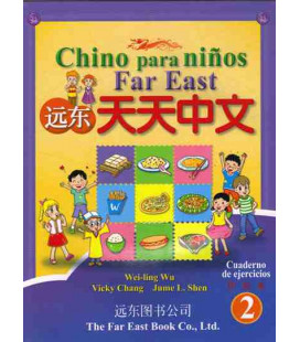 Chino para niños Far East 2- Übungsbuch