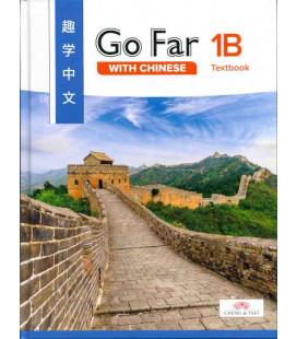 Go Far with Chinese Level 1B Textbook (Hardcover, Simplified)