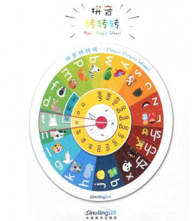 Magic Pinyin Wheel Plus (38 cm. de diámetro)