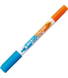 Bolígrafo para memorizar Kokuyo (Azul/Naranja) - No incluye lámina roja semitransparente