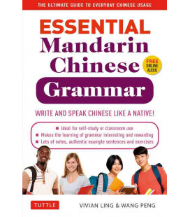 Essential Mandarin Chinese Grammar - Write and Speak Chinese like a Native! (Inkl. Audio Dateien zum Download)
